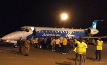 Из аэропорта Черновцы выполнен первый рейс в Италию