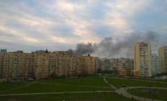 В Одессе пожар на крупном рынке