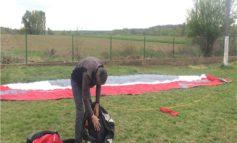В Закарпатье задержали парашютиста из Венгрии