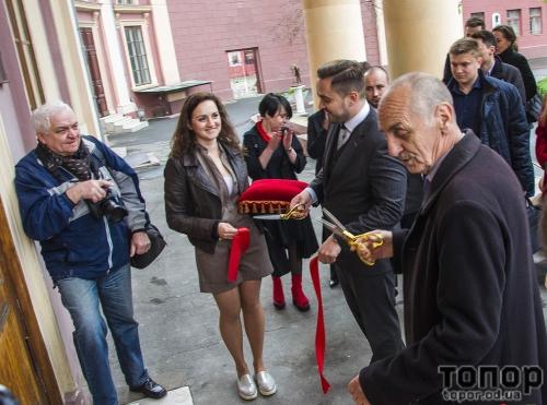 В Одесском художественном музее обновлён вестибюль благодаря поддержке местного бизнеса