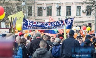 В Одессу вернулась Юморина: с шумным и красочным парадом по центральным улицам города (фото)