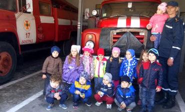 В Болграде дошкольники почувствовали себя спасателями