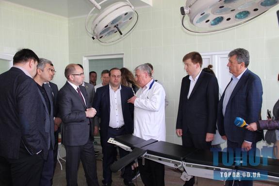 Губернатор Одесской области Максим Степанов посетил Арциз