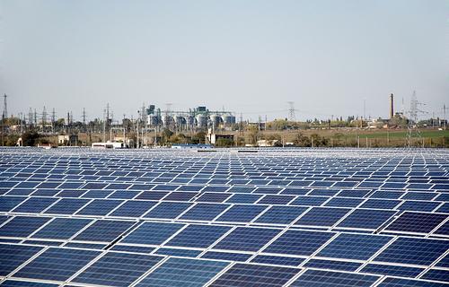 В Арцизе появится еще одно поле с солнечными батареями