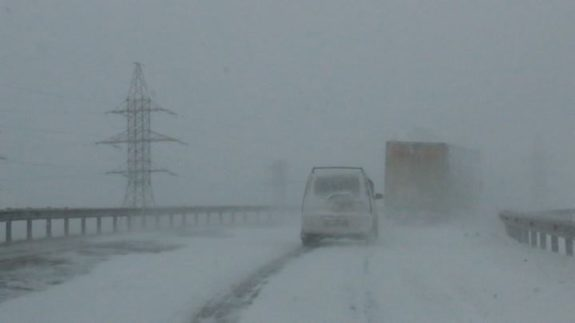 Гагаузию накрыло снегом: спасатели призывают водителей воздержаться от поездок