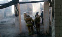 В курорте Затока сгорел дом