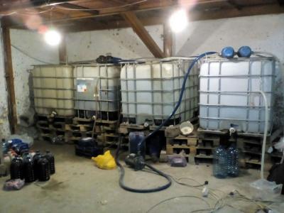 В Измаиле «накрыли» крупный завод по производству нелегального алкоголя
