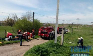 В Арцизе условно ликвидировали последствия столкновения поезда с пассажирским автобусом (фото)