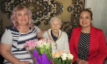 Жительницу Белгорода-Днестровского поздравили со 100-летним юбилеем