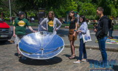 В Одессе высадился эко-десант, который рассказал об энергоэффективности