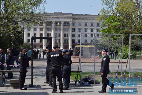 «2 мая»: в Одессе на Куликовом поле и Соборной площади развернут фильтрационные пункты
