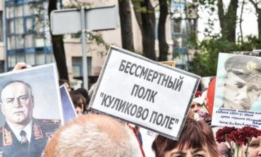 """В Одессе прошел """"Бессмертный полк"""". Не обошлось без потасовок (фото)"""