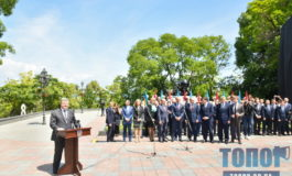 В Одессе открыли отреставрированные Потемкинскую лестницу и Стамбульский парк (фото)
