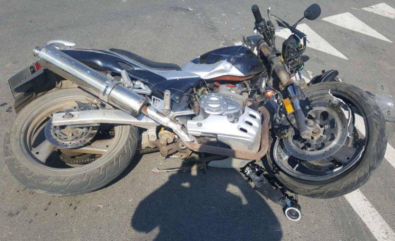 Утро в Измаиле началось с аварии: мотоциклист — в больнице (ФОТО)