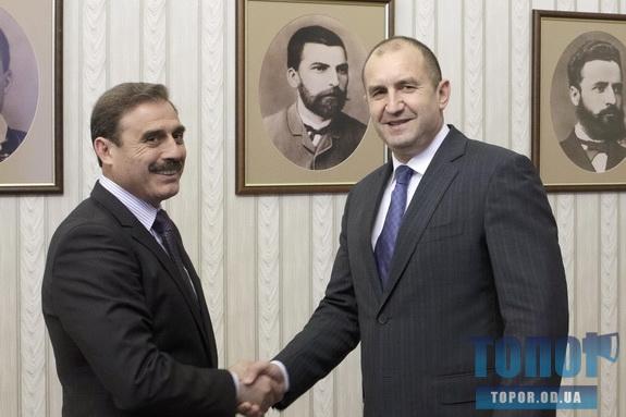 Антон Киссе встретился с Президентом Болгарии Руменом Радевым