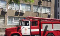 В Одессе горело здание Строительной академии