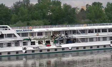 На Дунае столкнулись два украинских теплохода