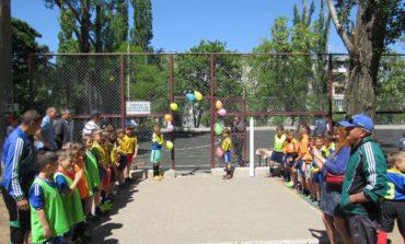 В Белгороде-Днестровском открыли новую спортплощадку