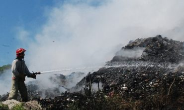 Во Львовской области снова горела Грибовицкая свалка