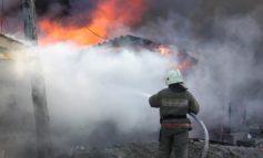В Одессе при пожаре в строительном вагончике погиб мужчина