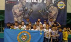Юные десантники из Арциза приняли участие в чемпионате мира по козацкому двоеборью