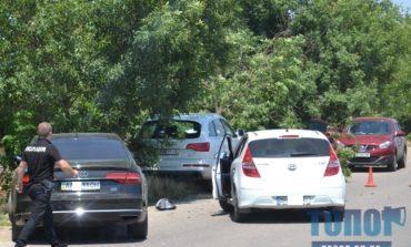 Тройное ДТП на проспекте Маршала Жукова: разбиты три иномарки с одесской и киевской регистрацией (фото)