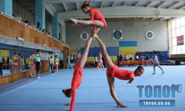 Акробатки  из Белгорода-Днестровского стали чемпионами Украины