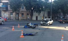ДТП на Молдаванке: травмирован мотоциклист