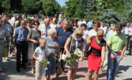 В Белгороде-Днестровском прошёл митинг, посвящённый Дню скорби
