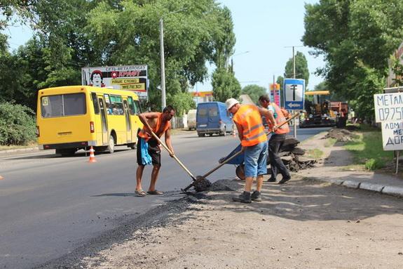 Ремонтом дорог занялись в Белгороде-Днестровском