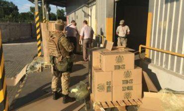 В Одессе пограничники обнаружили контрабандные сигареты на 1 млн гривен