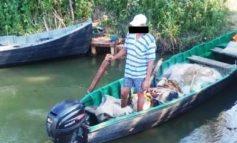На Дунае поймали браконьеров с уловом на 200 тыс грн