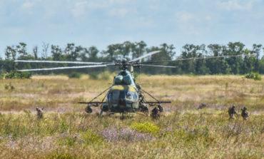 На Широком Лане проходят украинско-американские военные учения