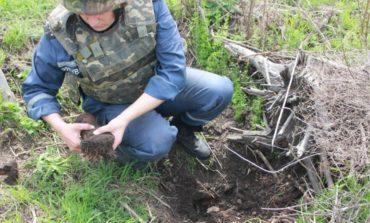 Под Одессой местные земледельцы нашли артснаряд