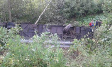 В Тернопольской области перевернулся автобус с туристами