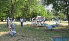 В Арцизе установили новые спортивные площадки