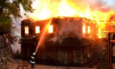 """В Одессе сгорел ресторан """"Хуторок"""", расположенный у моря"""
