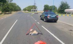 Возле курорта в Килийском районе мотоциклист угодил под колеса автобуса