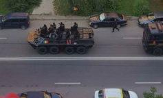 На улицы Кишинева вышла военная техника (фото, видео)