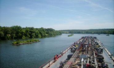Объемы грузоперевозок по рекам Украины значительно снизились