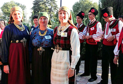 Артисты Болградского района удачно выступили на фестивале-конкурсе в Болгарии