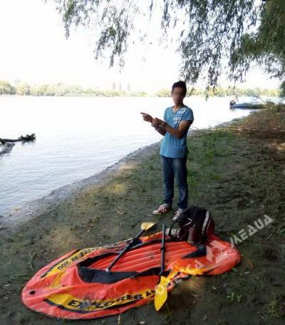 В Одесской области на Дунае задержали несовершеннолетнего индуса-нелегала