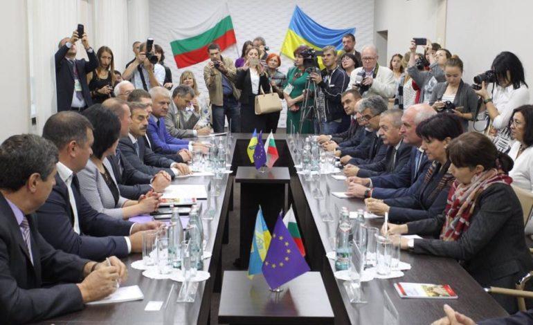 Антон Киссе принимал официальную делегацию из Болгарии во главе с председателем Народного собрания Болгарии