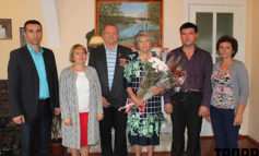 В Болграде поздравили юбиляршу