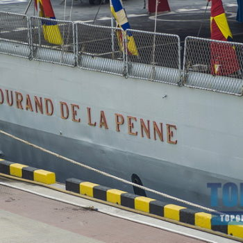 Визит итальянского военного корабля в Одесский порт глазами фотокора