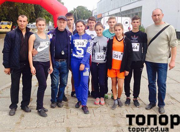 Болградские школьники стали лучшими кроссменами области