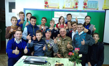 В Болградской школе-интернате прошла встреча с участниками АТО