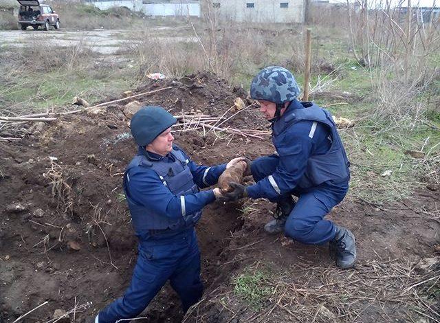 В Одесской области нашли две мины времен ВОВ