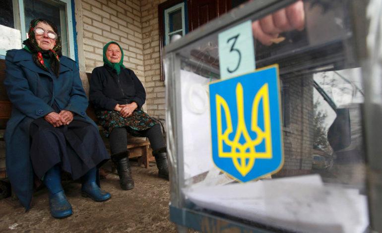 В воскресенье более миллиона украинцев придут на избирательные участки