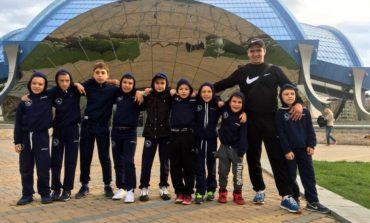 Арцизские спартанцы приняли участие в международном турнире по вольной борьбе